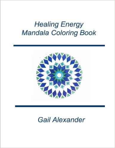 Healing Energies Mandala Coloring Book