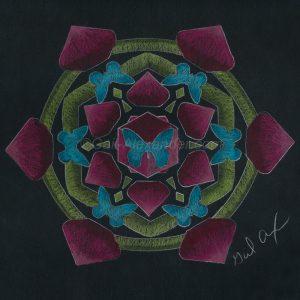 Butterflies of Transformation Mandala