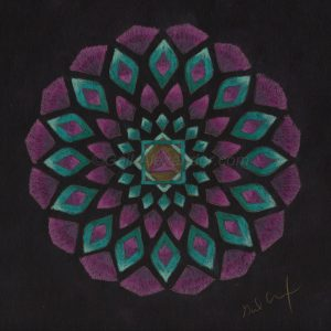 Divine Heart Mandala by Gail Alexander