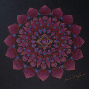 Let Love In Mandala by Gail Alexander