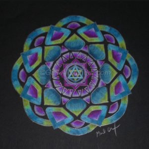 Playful Awakening Mandala by Gail Alexander