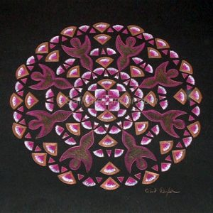 Portals of Love Mandala by Gail Alexander