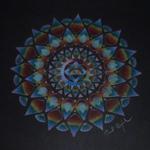 Rainbow Power Mandala by Gail Alexander