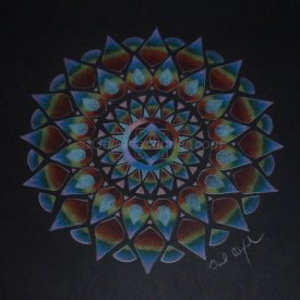 Rainbow Power Mandala