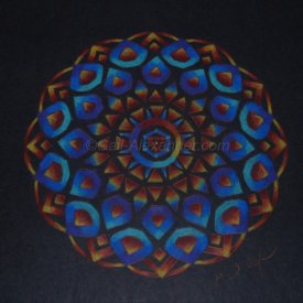Goddess of the Rainbow Light Mandala