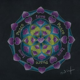 Peace and Love Mandala