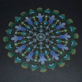 Angels of Health and Healing Mandala