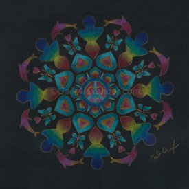 One Love One World Mandala
