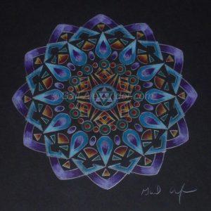 Balance Mandala by Gail Alexander