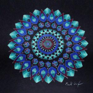 Being Mandala by Gail Alexander