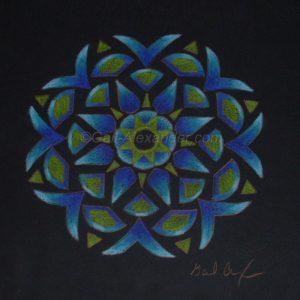 Light Transmission Mandala by Gail Alexander