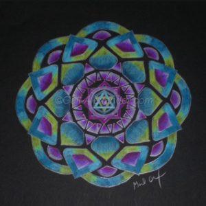 Playful Awakening Mandala by Gail Alexander