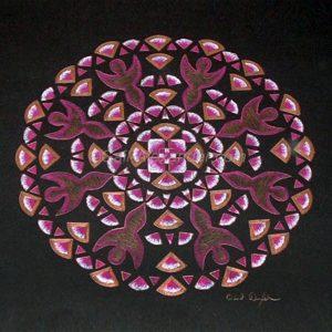 Portals of Love Mandala by Gail Alexander