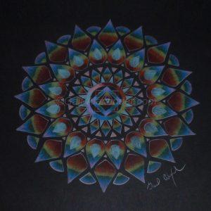 Rainbow Power Mandala by Gail Alexander